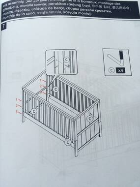 gro years cot instructions assembly