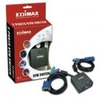 Edimax EK-PA2C 2 Ports PS/2 Mini KVM with Cables and Audio Support