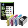 Original HP No.940XL high capacity black and colour printer ink cartridge multipack C2N93AE