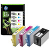 HP 920xl Combo Pack Ink Cartridges (Black/Cyan/Magenta/Yellow) (Yield Black: 1200 Pages/Yield Colour: 700 Pages) for OfficeJet Printers