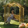 Dartmouth Swinging Seat Garden Arbour