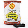Extra Value Pack of 4(Huge Savings on Postage) - Heat Beads Barbecue Briquettes Bag 4kg