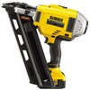 18V 90mm Lithium-Ion Cordless Brushless Framing Nailer with 4Ah Batteries