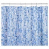 Croydex Geo Mosaic Water-Resistant Textile Shower Curtain