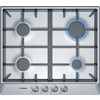 Bosch Pcp615B90B Built-In 4 Zone Gas Hob - Brushed Stainless Steel