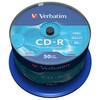 VERBATIM  52x Speed CD-R Blank CDs - Pack of 100