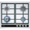 SIEMENS EC645HC90E iQ500 58cm Four Burner Gas Hob With Cast Iron Pan Stands - Stainless Steel