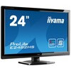 Iiyama ProLite E2482HS (23.6 inch) LED Backlit LCD Monitor 1000:1 300cd/m2 (1920x1080) 2ms VGA/DVI/HDMI (Black)