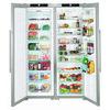 Liebherr SBSES7252 American Fridge Freezer - Stainless Steel