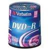 Verbatim DVD-R 16x Silver 4.7GB 100 Pack Spindle