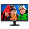 Philips 193V5LSB2 18.5 inch V-Line LED Display Monitor (1366 x 768 p, DDR3 SDRAM, 8.76 W) - Black