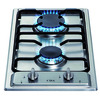 CDA HCG301SS 2 Burner Domino Gas Hob - Stainless Steel
