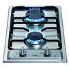 CDA HCG301SS 29cm Domino Two Burner Gas Hob Stainless Steel