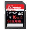 SanDisk SDSDX-016G-X46 Extreme SDHC UHS-I Class 10 Memory Card up to 45 MB/s read - 16 GB