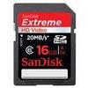 SanDisk 16GB Extreme HD Video SDHC Flash Card