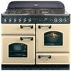 Rangemaster Classic CLAS110NGFCR/C Gas Range Cooker - Cream / Chrome. Plenty Of Cooking Space and Easy To Clean