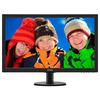 Philips 273V5LHAB/00 27 LED 1920x1080 VGA DVI HDMI  Speakers Black