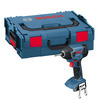 Bosch Professional GSB L-Boxx 18 V-LI DymanicSeries Combi Drill + GDR 18 V-LI Impact Driver with Two 18 V 4.0 Ah Lithium-Ion Wireless Charging Batteries