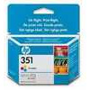 HP 351 - Print cartridge - 1 x colour (cyan, magenta, yellow)