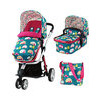 Cosatto Giggle 2 Pram System 3in1 combi-Go Brightly (New) + Free Car Seat Worth £145!