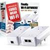 Devolo dLAN 1200+ Wi-Fi AC Powerline Starter Kit (1200 Mbps, 2 PLC Adapter, 2 LAN Ports, Dual Band 2.4 GHz / 5 GHz, Wi-Fi Signal Booster, Range Extender, Wi-Fi Move) - White