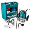 Makita Rp1801 KX 240 Volt 1/2in Router & Case 1650w Fixed Speed