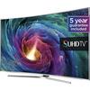 """Samsung UE78JS9500 Curved 4K SUHD 3D Smart TV, 78"""""""
