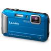 Panasonic DMC-FT30 Camera Blue 16.1MP 4xZoom 2.7LCD 720pHD 25mm DC Vario Wtprf