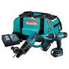 Makita DLX2025M SDS 18 V Li-Ion Hammer Drill and Combi Kit