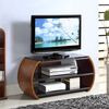 Jual Jf208 Walnut Curve TV Stand