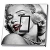 Marilyn Monroe Black & White Light Switch Sticker cover skin decal