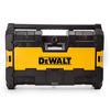 DEWALT DWST1-75663-GB Toughsystem Radio DAB+ with 6 Speakers/Bluetooth and USB - Black