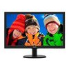Philips V-line 243v5lhsb (23.6 Inch) Lcd Monitor With Smartcontrol Lite 1000:1 250cd/m2 1920x1080 5ms Vga/dvi-d/hdmi (black)