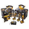 DEWALT DCK699M3T 18V XR 6 PIECE KIT WITH 3X 40AH LIION BATTERIES
