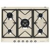 Smeg SR975XGH Victoria Integrated Gas Hob, Stainless Steel