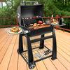 Lokkii M.838S Perfection Small Barrel Charcoal BBQ - Black