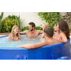 Lay-Z-Spa Monaco Inflatable Portable Rigid Hot Tub Spa, 6-8 Person
