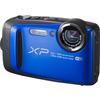 FUJIFILM  XP90 Tough Compact Camera & XP Float Strap Yellow & Purple Bundle, Yellow