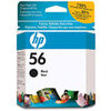 Original HP No.56 black printer ink cartridge C6656AE