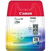 Canon CL 38 - Ink tank - 1 x colour (cyan, magenta, yellow) - blister