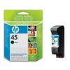 Hp Black Ink Cart No.45(42Ml)51645Ae