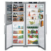 Liebherr 121cm Side By Side Biofresh-Plus Fridge Icemaker & Wine Storage