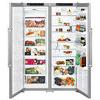Liebherr SBSesf7212 Freestanding American Fridge Freezer - Stainless Steel