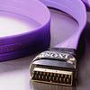 Ixos Flat Profile 21 Pin Fully Wired Scart To Scart .75M  XHT611-075