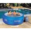 Inflatable Pool Lounger, Includes Cup Holder and Cooling Compartment
