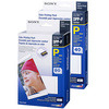Sony Color Print Pack Print Paper and Ink Ribbon - P size - Pack of 120 sheets