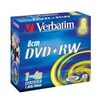 Verbatim Dvd+rw 1.46gb 4x 8cm Branded Jewel Case (5 Pack)
