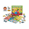 A fun shopping game. Help children learn about handling money and giving change, by playing this fun shopping game.  Go around the board from shop to shop, using plastic money to buy lots of different items. Encourages concentration and observationPromote