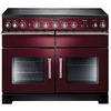 Rangemaster EXL110ECCY/C Range Cookers Cranberry / Chrome