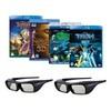 Sony 3D Accessory Kit (2x TDGBR250 Glasses and 4x Discs)